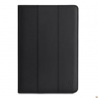 Belkin Leather Folio Case Tri-Fold for Galaxy Note 10.1 черен