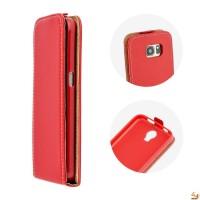 Калъф тип тефтер за Samsung A3 (2016) червен
