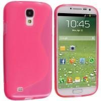 Силиконов калъф за Samsung Galaxy S4  i9500 розов