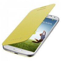 Samsung Flip Cover EF-FI950BY for Galaxy S4 жълт
