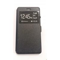 Страничен калъф тефтер за LG Zero черен