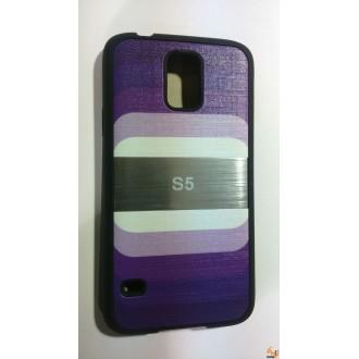 Силиконов калъф за Samsung Galaxy S5/S5 Neo лилав