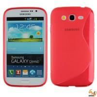 Силиконов калъф за Samsung i9060/i9082 Galaxy Grand червен