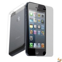 Протектор за дисплея за iPhone 5/5S преден и заден