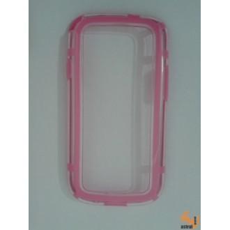 Силиконов bumber Samsung Galaxy S3 розов