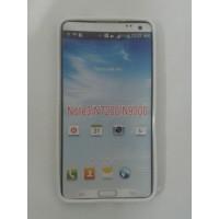 Силиконов калъф за Samsung Galaxy Note 3 N9005 бял