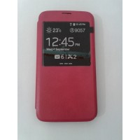 Страничен тефтер за Samsung Galaxy S5/S5 Neo розов