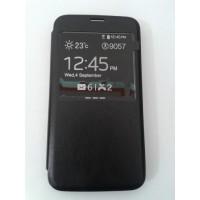 Страничен тефтер за Samsung Galaxy S5/S5 Neo черен