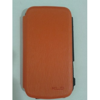 Калъф за Samsung Galaxy S Duos S7562 KLD оранжев