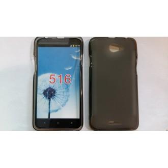 Силиконов калъф за HTC Desire 516 черен