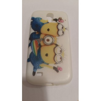 Силиконов калъф Samsung Galaxy S4 minions 2