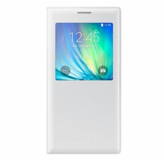 Samsung Flip Case S-View EF-CA700BW for Galaxy A7 white