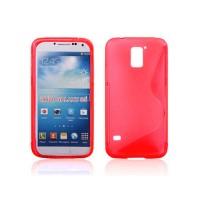 Силиконов калъф за Samsung Galaxy S5  G900 червен