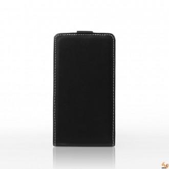 Калъф тип тефтер за Alcatel One Touch Idol 6030 черен