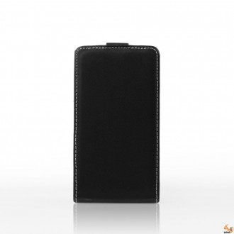 Калъф тип тефтер за Alcatel One Touch S Pop черен
