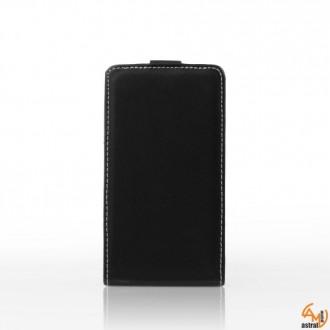 Калъф тип тефтер за Samsung S6500 Galaxy Mini 2 черен