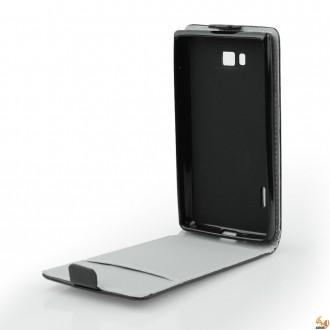 Калъф тип тефтер за Lenovo Vibe Z2 черен