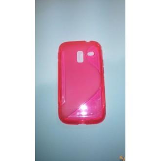 Силиконов калъф за Samsung Galaxy Ace 2 I8160 розов