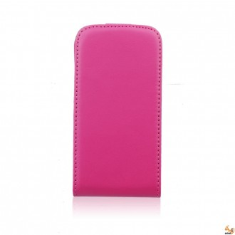 Калъф тип тефтер за Huawei P8 lite розов