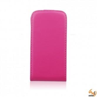 Калъф тип тефтер iPhone 4/4S розов