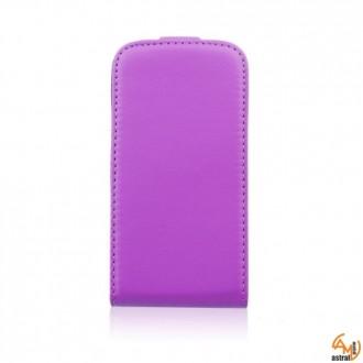 Калъф тип тефтер за Samsung S7270 Galaxy Ace 3 лилав