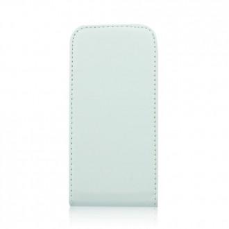 Калъф тип тефтер iPhone 5/5S бял