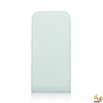 Калъф тип тефтер  за Samsung i9500 Galaxy S4 бял