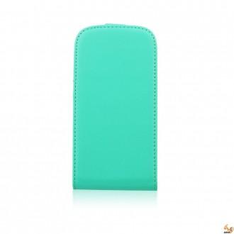 Калъф тип тефтер за Samsung Galaxy S5 mini зелен