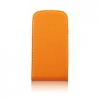 Калъф тип тефтер iPhone 5/5S оранжев