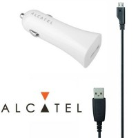 Alcatel Car Charger One Touch CC50 бяло