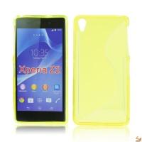 Силиконов калъф за Sony Xperia Z2 жълт