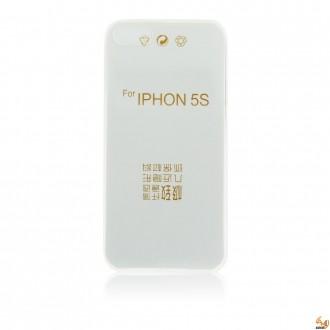 Силиконов калъф за iPhone 5/5S 0.3мм прозрачен