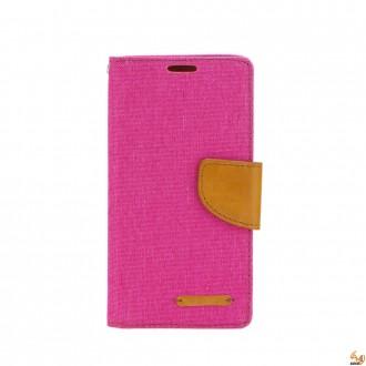 Страничен калъф тефтер за iPhone 4/4S розов