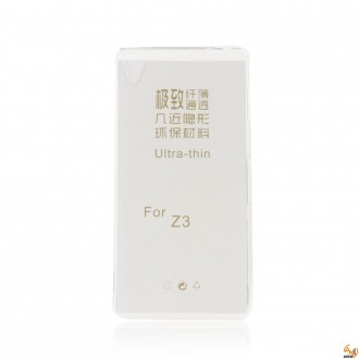 Силиконов калъф за Sony Xperia Z3 0.3мм прозрачен