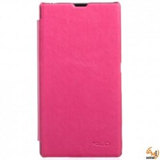Страничен тефтер KLD за Sony Xperia Z1 розов