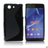 Силиконов калъф за Sony Xperia Z3 compact черен