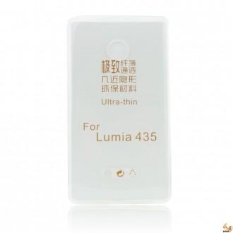 Силиконов калъф за Microsoft Lumia 435 0.3мм прозрачен