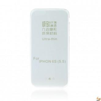 Силиконов калъф за iPhone 6/6S Plus 0.3мм прозрачен