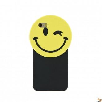 Силикон 3D за iPhone 6/6S усмивка