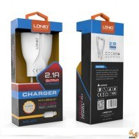 Зарядно устройство 220V 2.1A A2271 LDNIO с кабел за iphone 5 / 6