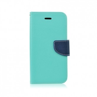 Страничен калъф тефтер за Samsung Galaxy S6 зелен