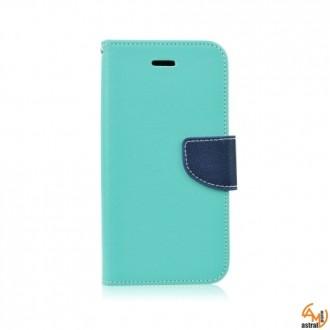 Страничен калъф тефтер за HTC Desire 816 зелен
