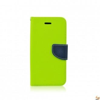 Страничен калъф тефтер за LG Spirit зелен 1