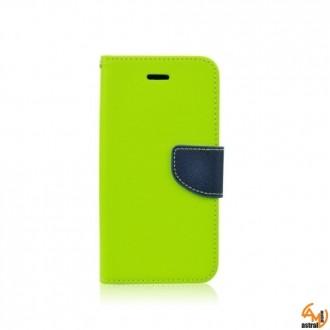 Страничен калъф тефтер за Microsoft Lumia 550 зелен