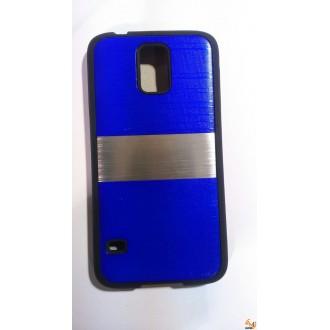 Силиконов калъф за Samsung Galaxy S5/S5 Neo тъмно син