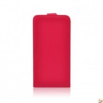 Калъф тип тефтер за LG L Fino червен