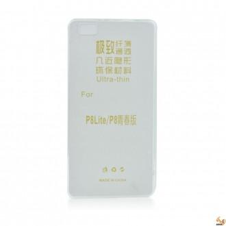 Силиконов калъф за Huawei P8 Lite 0.3mm прозрачен