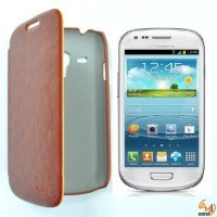 Калъф за Samsung Galaxy S3 mini KLD кафяв