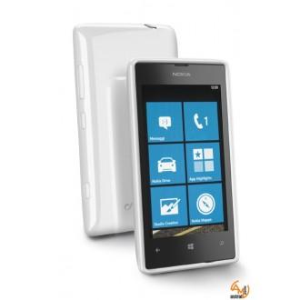 Shocking case за Nokia Lumia 520/525 бял Cellular line