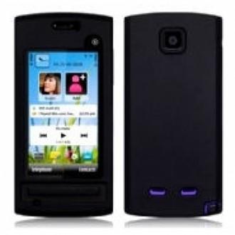 Силиконов калъф за Nokia 500 черен